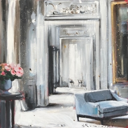 Hanna Ruminski - Parisian Apartment in White II
