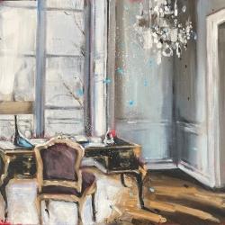 Hanna Ruminski - Parisian Apartment in White IV