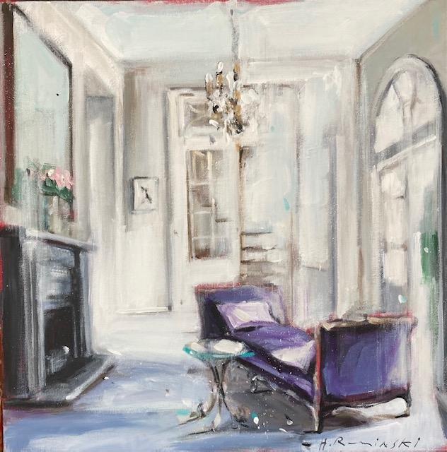 Parisian Apartment in White I by Hanna Ruminski