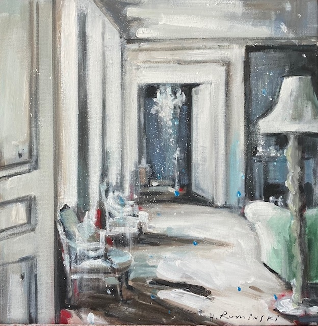Parisian Apartment in White VI by Hanna Ruminski