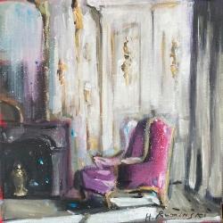 Hanna Ruminski - Armchair in Rose