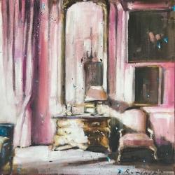 Hanna Ruminski - French Chateau in Rose