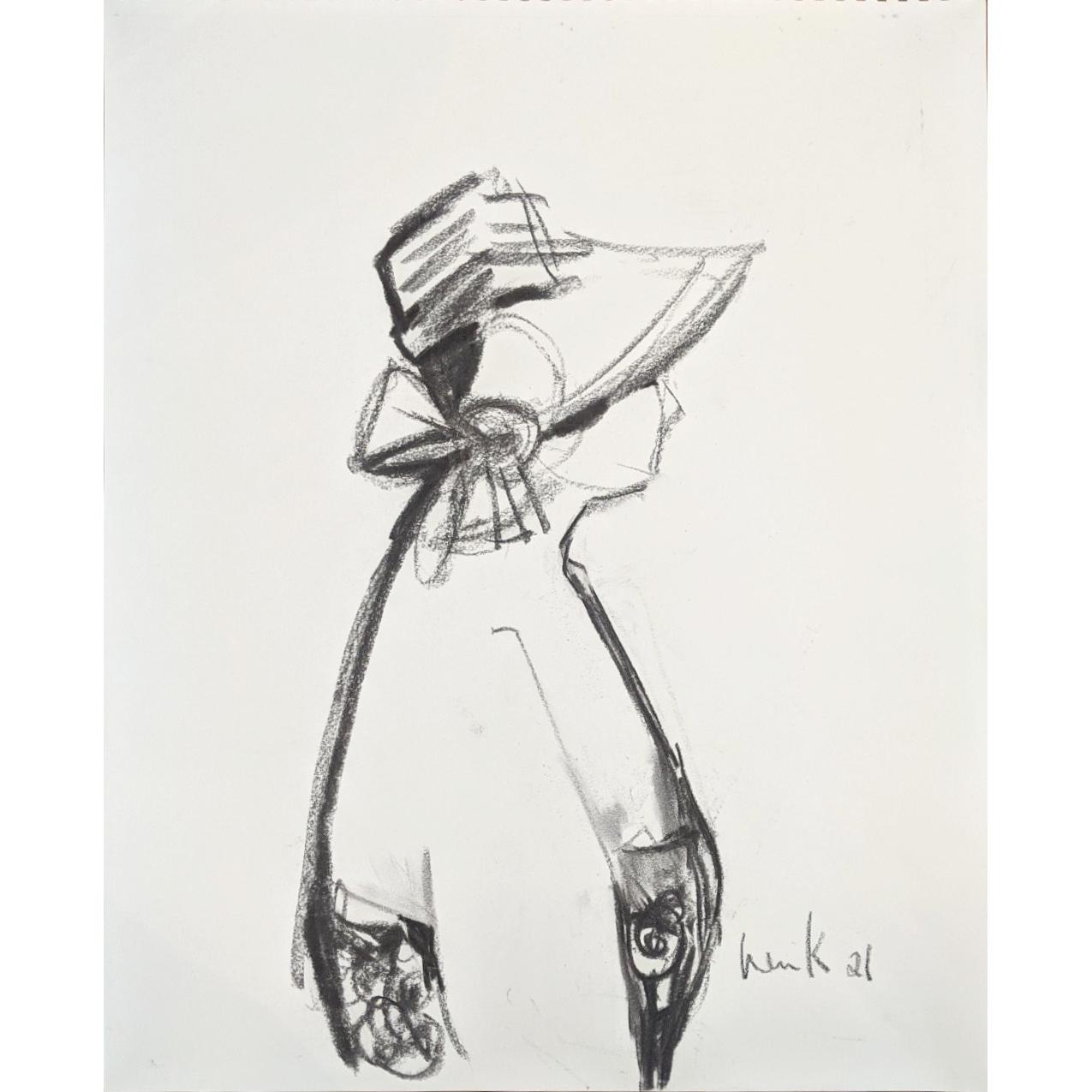 Sun Hat 2 (study) by Win  Keenan-Kuplowsky