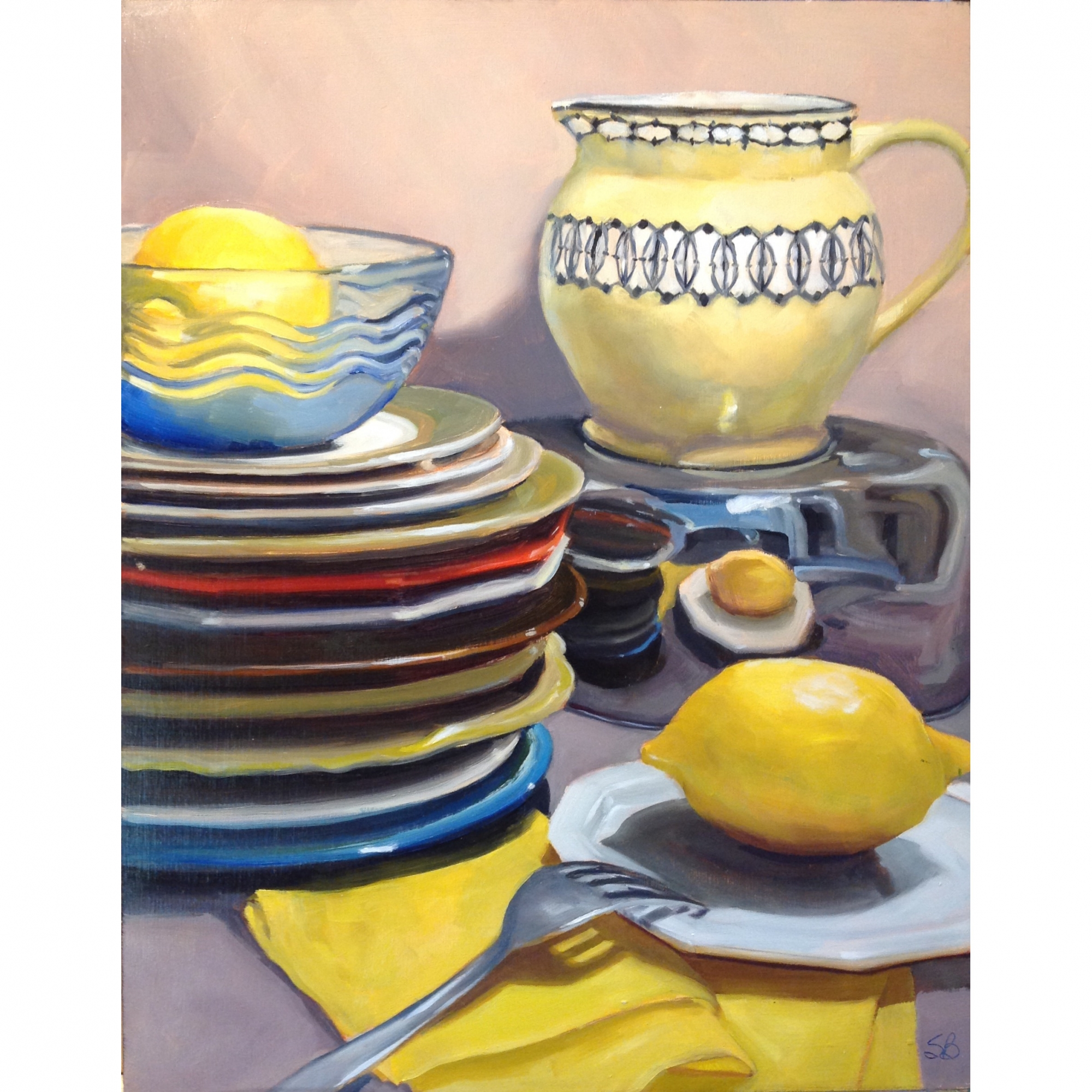 It's All About Yellow by Sonja  Brown