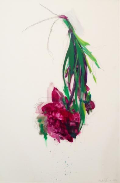 Purple Peony by Madeleine Lamont