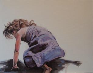 Somersault Purple by Jennifer Wigmore