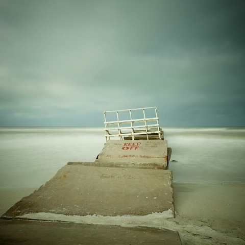 The Gulf of Mexico #54, Bradenton Beach by David Ellingsen