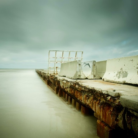 The Gulf of Mexico #60, Bradenton Beach by David Ellingsen