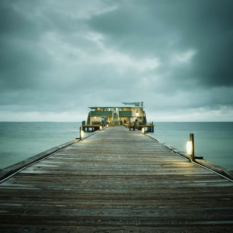 The Gulf of Mexico #33, Rod + Reel Pier by David Ellingsen