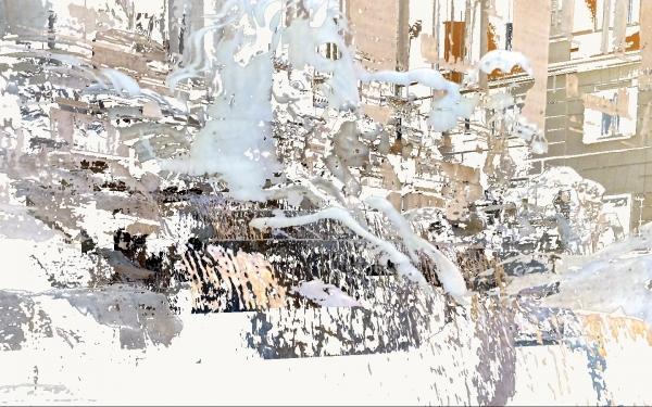 Waterhorse Lead by Tritons by Adriyanna Zimmermann