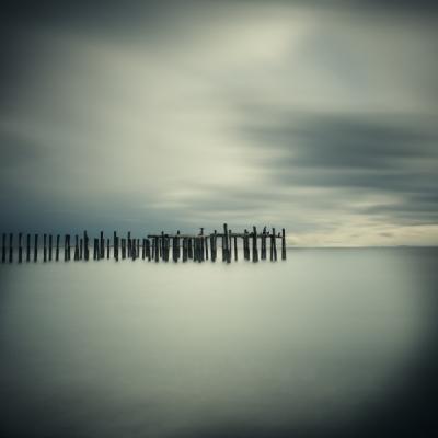 Salish Sea, Study 2 #21 by David Ellingsen