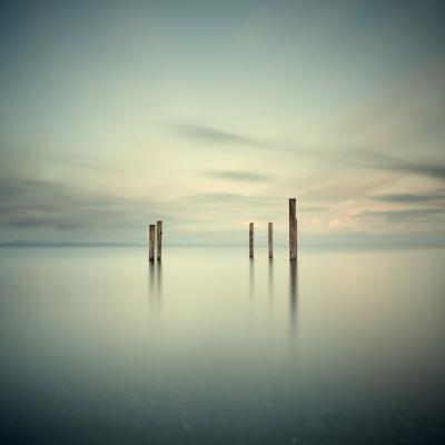 Salish Sea, Study 2 #55 by David Ellingsen