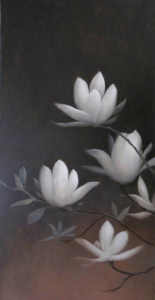 Magnolias 3 by Greg Nordoff