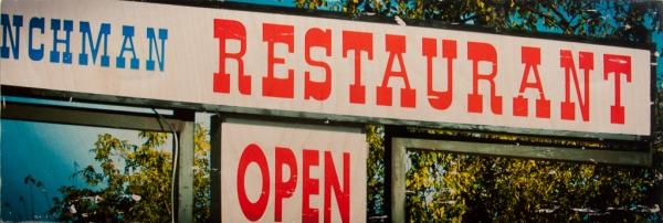 Restaurant Open by Patrick Lajoie