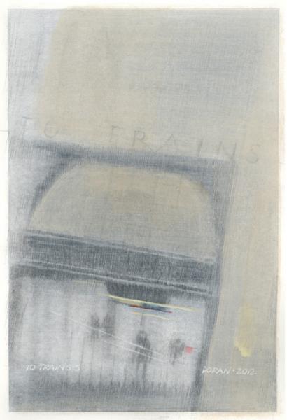 To Trains 5 by Eleanor Doran