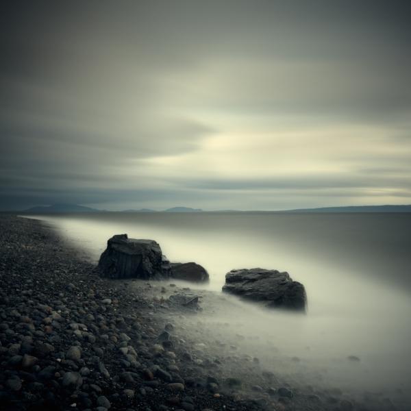 Salish Sea, Study 2 #29 1/10 by David Ellingsen