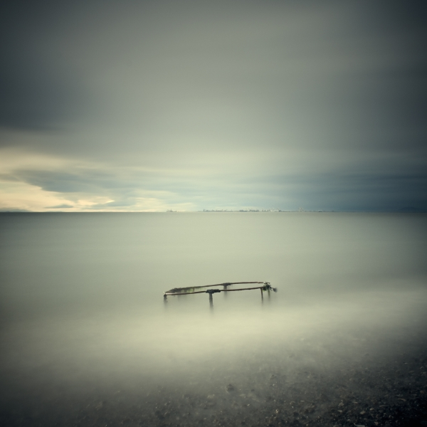 Salish Sea, Study 2 #25 1/10 by David Ellingsen