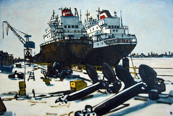 Great Lakes, Port Weller by Peer Christensen