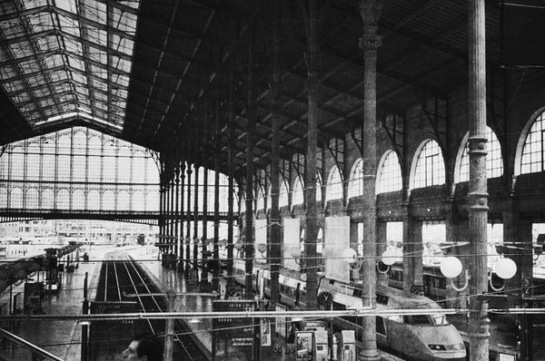 Train Station by Babar Khan