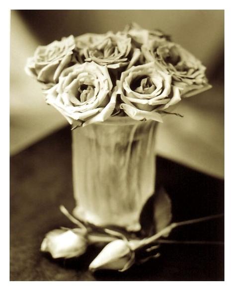 Roses And Lalique Vase Tom Horbett Art Interiors Toronto Art