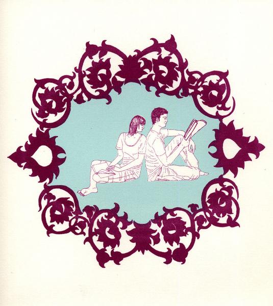 Read with Me 2 4/14 by Geneviève Jodouin