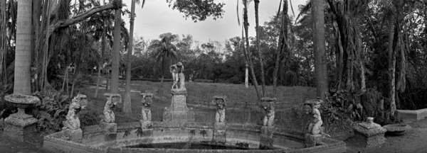 Vizcaya Gardens - Many Statues by Paul Till