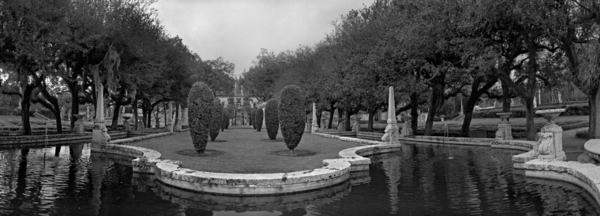 Vizcaya Gardens - Pond 1/5 by Paul Till