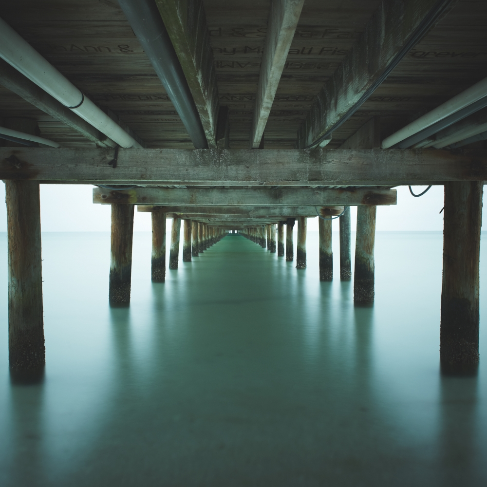 The Gulf of Mexico #17, City Pier by David Ellingsen