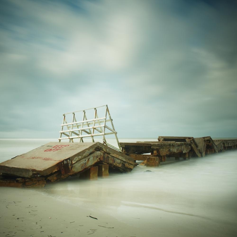 The Gulf of Mexico #52, Bradenton Beach by David Ellingsen