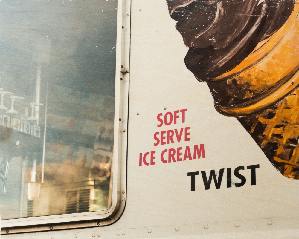 Ice Cream with a Twist by Patrick Lajoie
