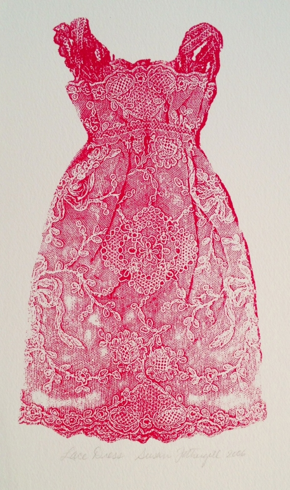 Lace Dress by Susan Fothergill