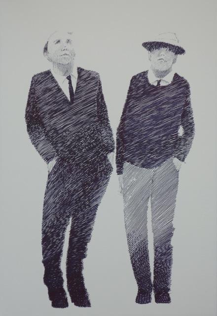 Two Old Geezers by J. Joel