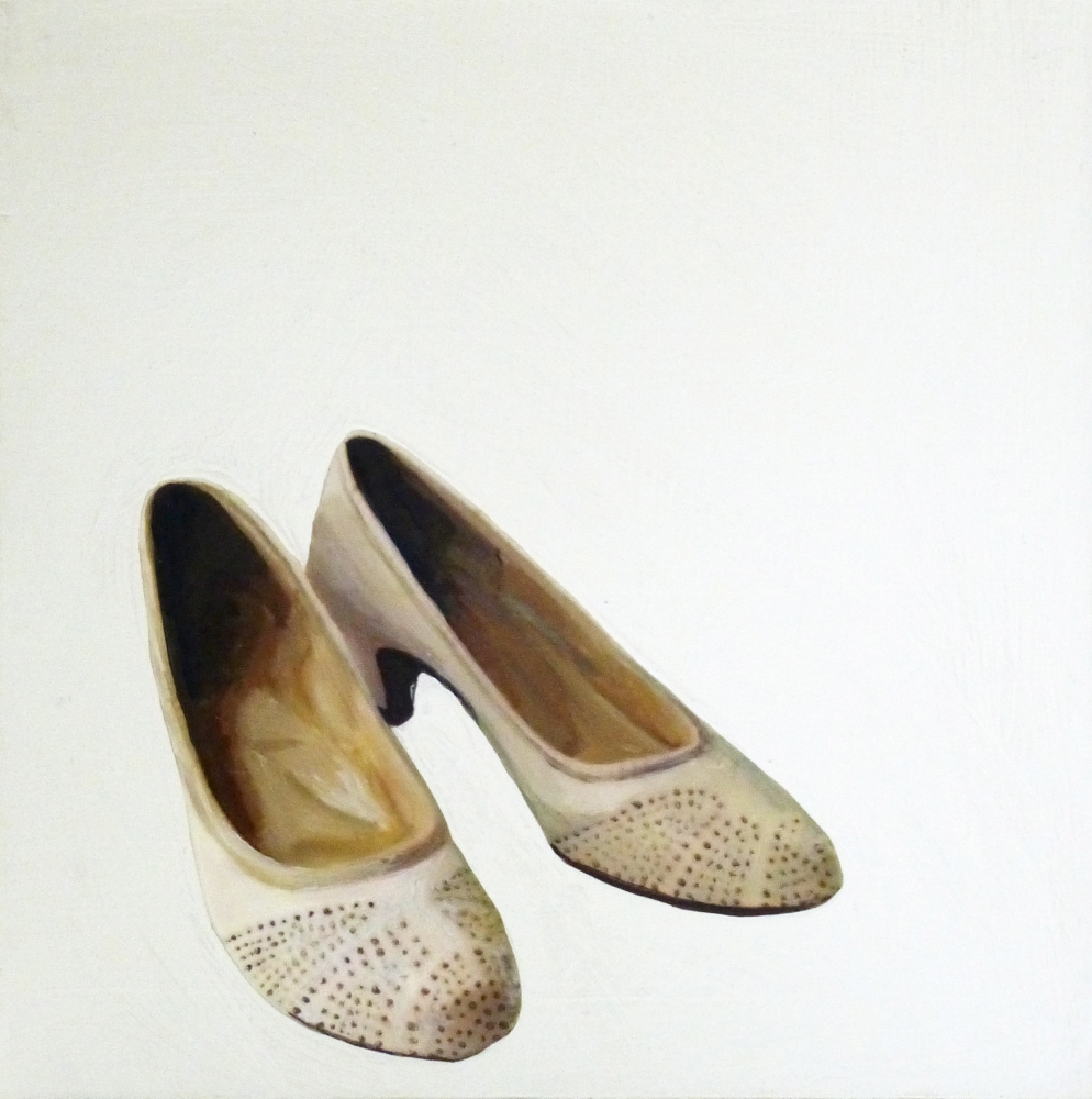 Pretty White Pumps  by EM Vincent