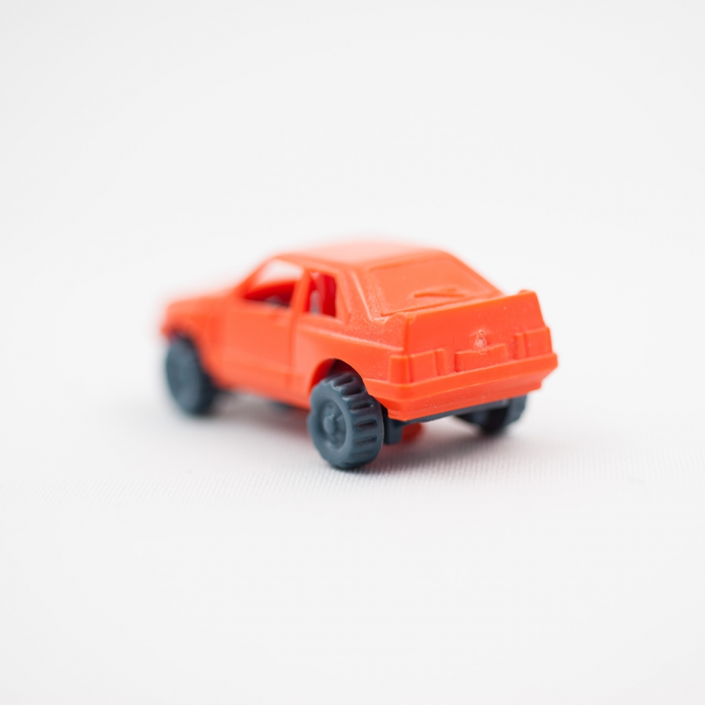 Orange Car No.5  by Jordan Nahmias