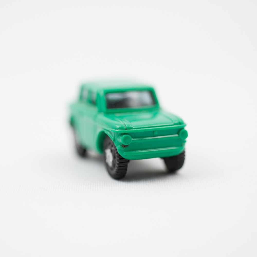 Green Car No. 2  by Jordan Nahmias