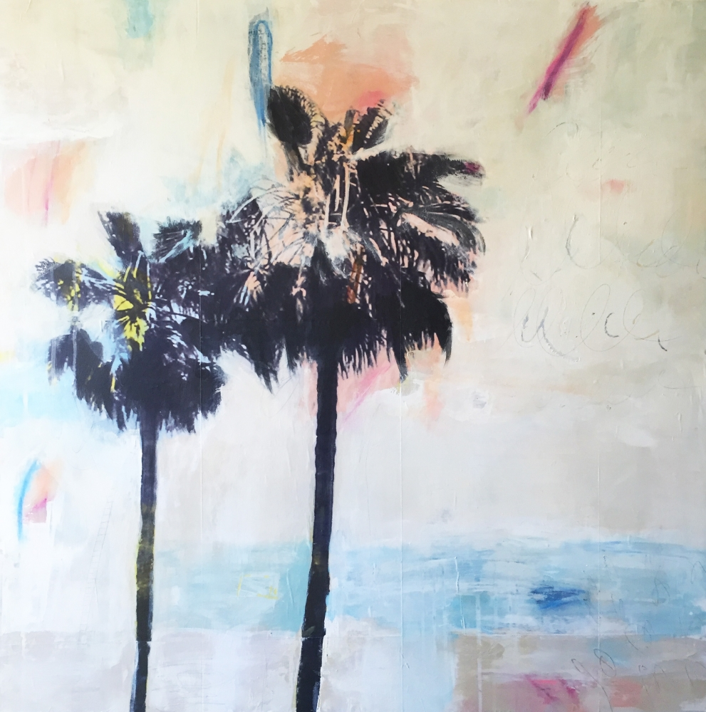 Peaceful Palms  by Danielle Hession