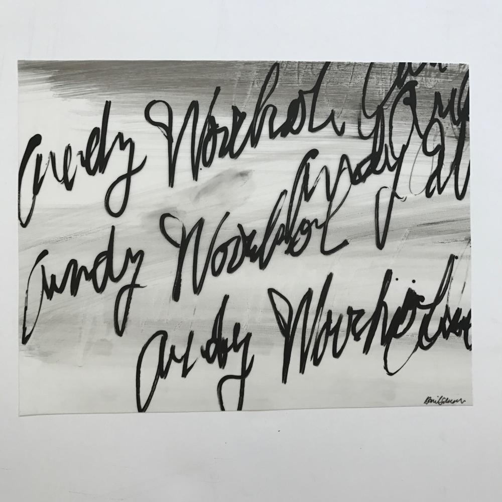 Warhol - Small 3 by Daniel Schneider