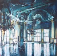Ballroom in Venice by Hanna Ruminski