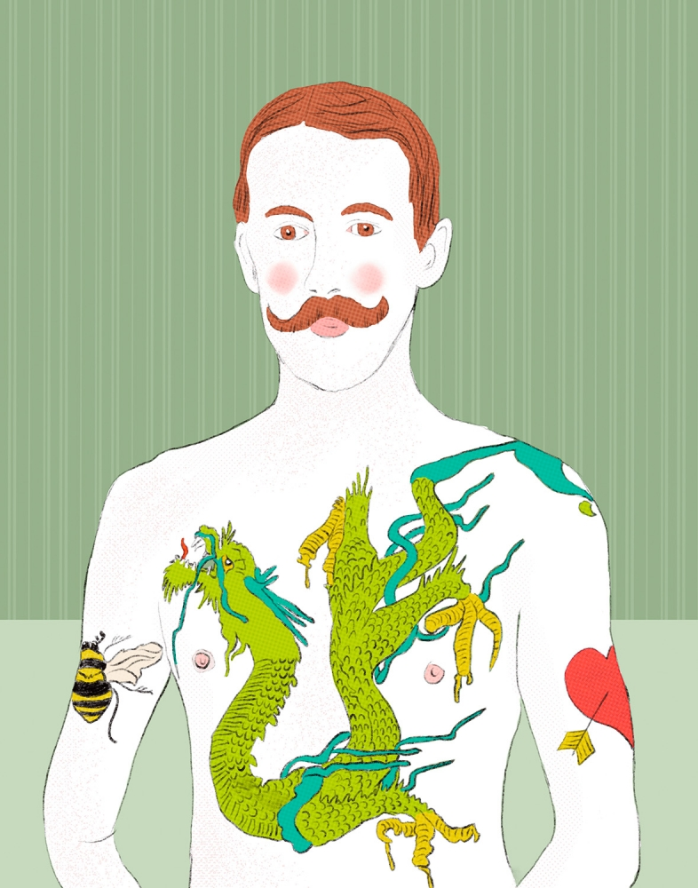 Dragon Guy by Roberta Murray