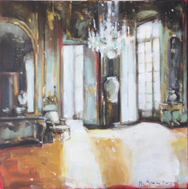 Parisian Apartment II by Hanna Ruminski