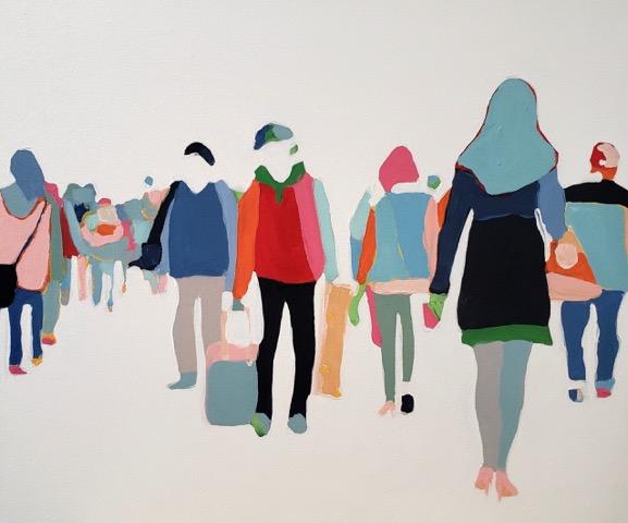 Highline Study 2 by Sherry  Czekus
