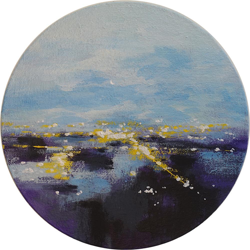 Night Landing by Rita Vindedzis