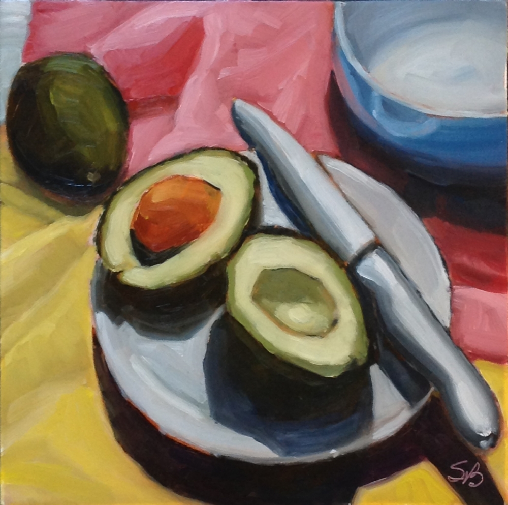 Avocados 5 by Sonja  Brown