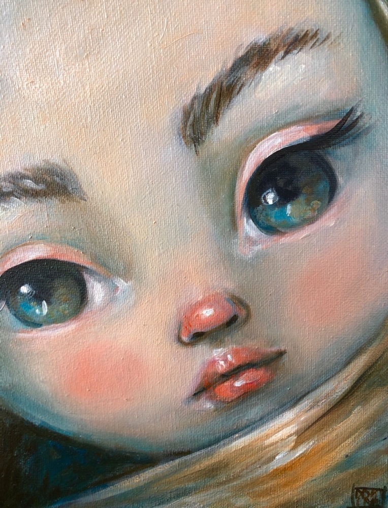 Turquoise Eyes by Kate Domina