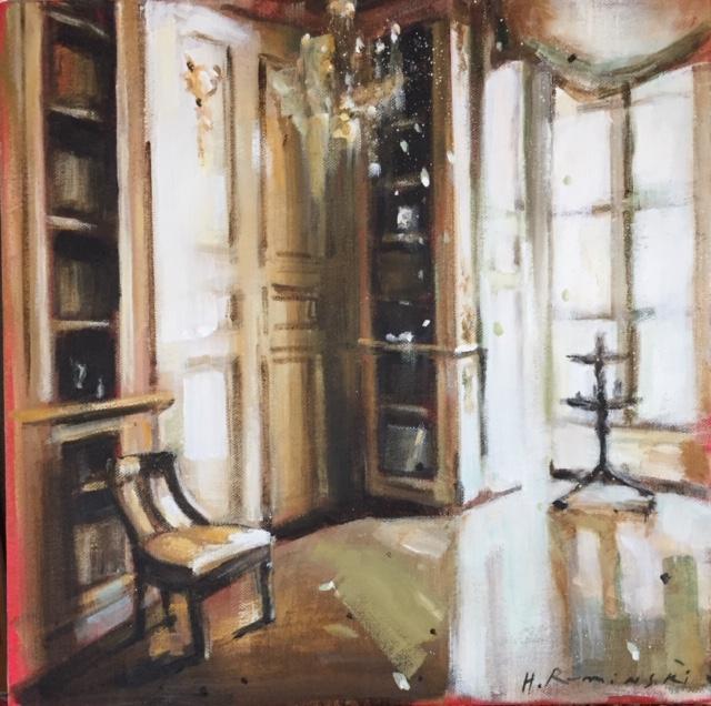 Parisian Apartment in Champagne  by Hanna Ruminski