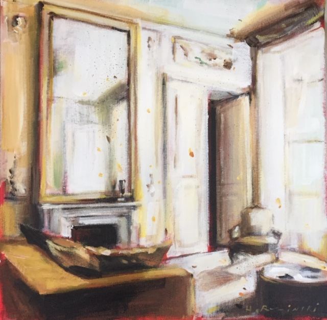 Parisian Apartment in Cream by Hanna Ruminski
