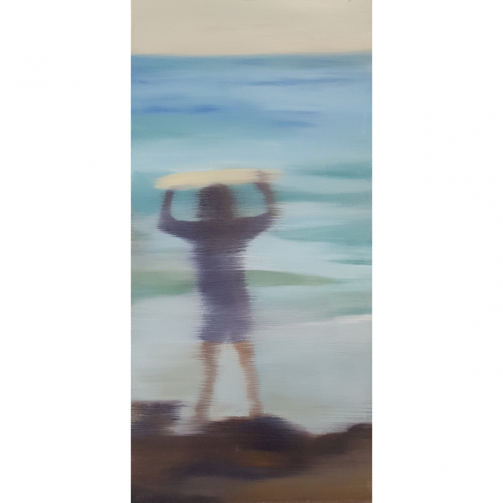 Catching Waves #8 by Shannon  Dickie