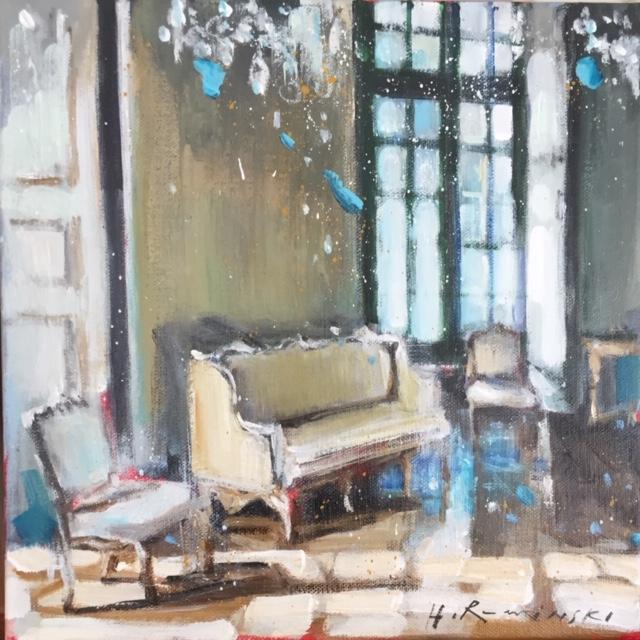 Chateau in Lorraine by Hanna Ruminski