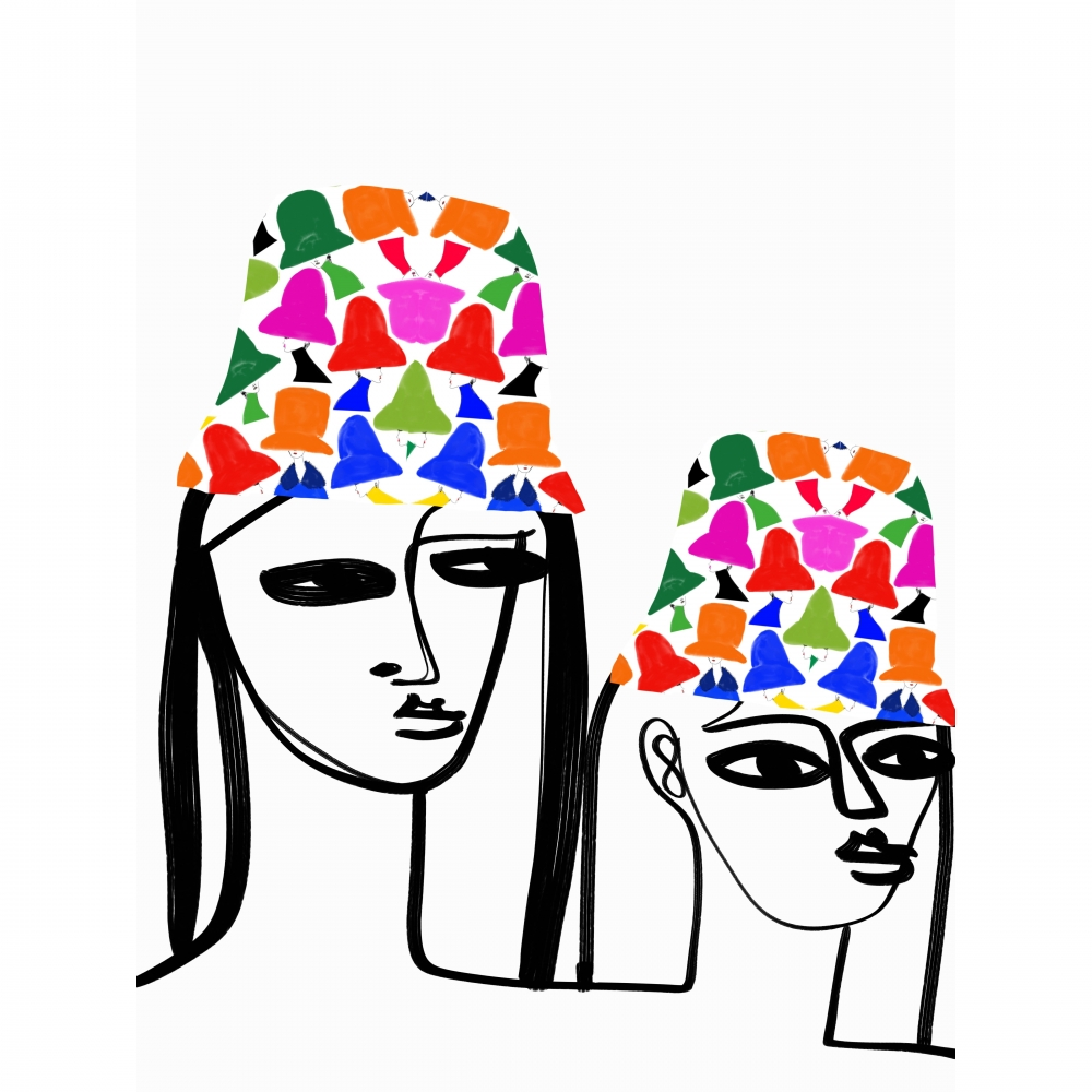 Spring Bucket Hats by Annie  Naranian